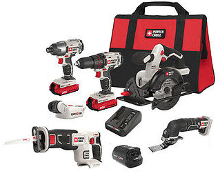Porter Cable Cordless Combo Set